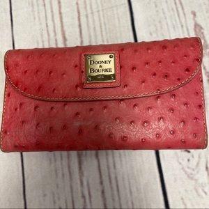 Dooney & Bourke Pink Wallet